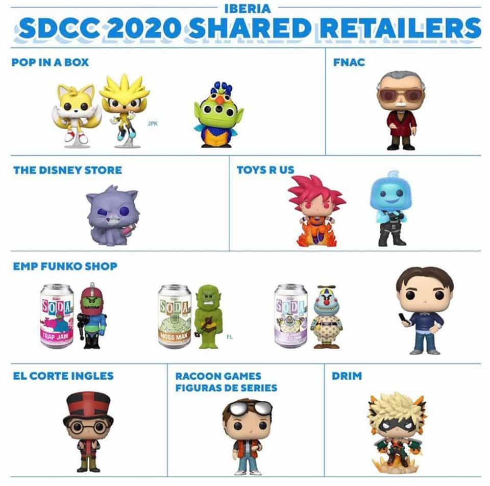 Iberia - Funko SDCC 2020 Shared Retailers