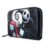 Loungefly Disney The Nightmare Before Christmas: Jack and Sally Simply Meant To Be Zip Around Wallet