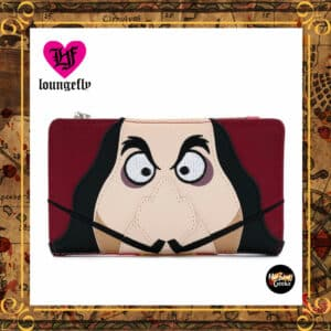 Loungefly Disney Villains: Captain Hook Flap Wallet