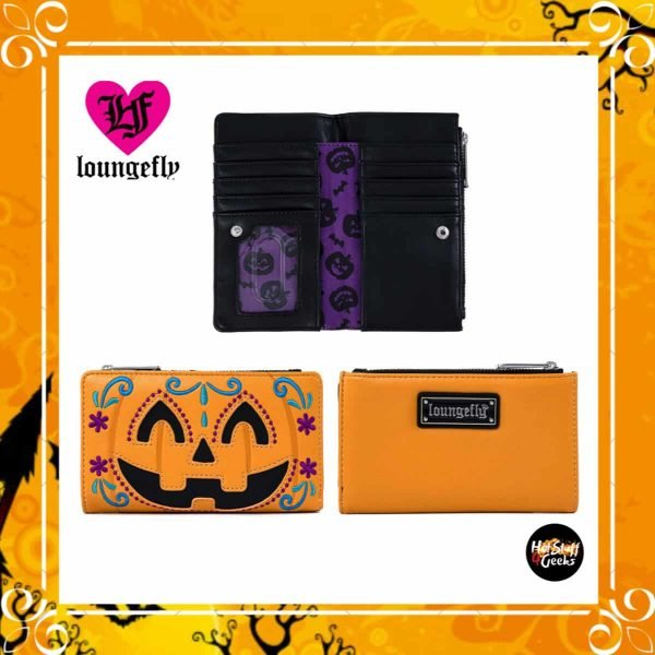 Loungefly Halloween: Pumpkin Flap Wallet by Loungefly