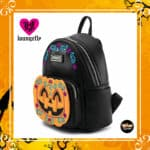 Loungefly Halloween: Pumpkin Mini-Backpack by Loungefly