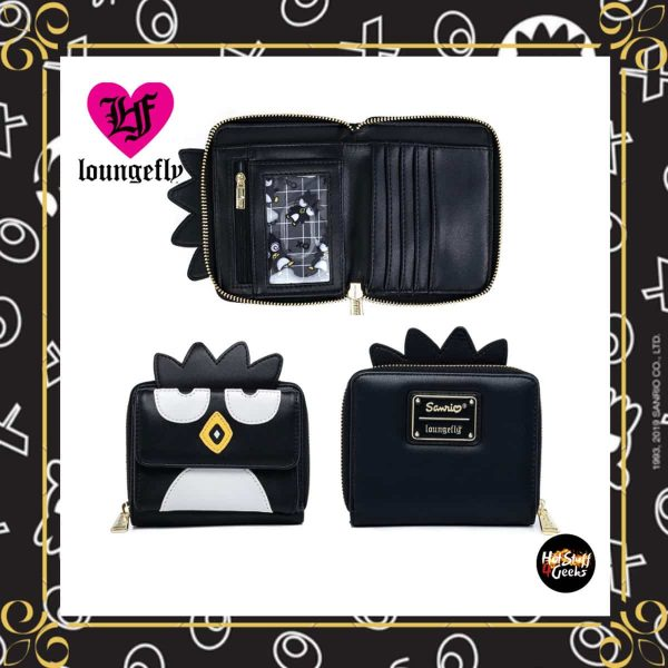 Loungefly Hello Kitty Badtz-Maru Cosplay Zip Around Wallet
