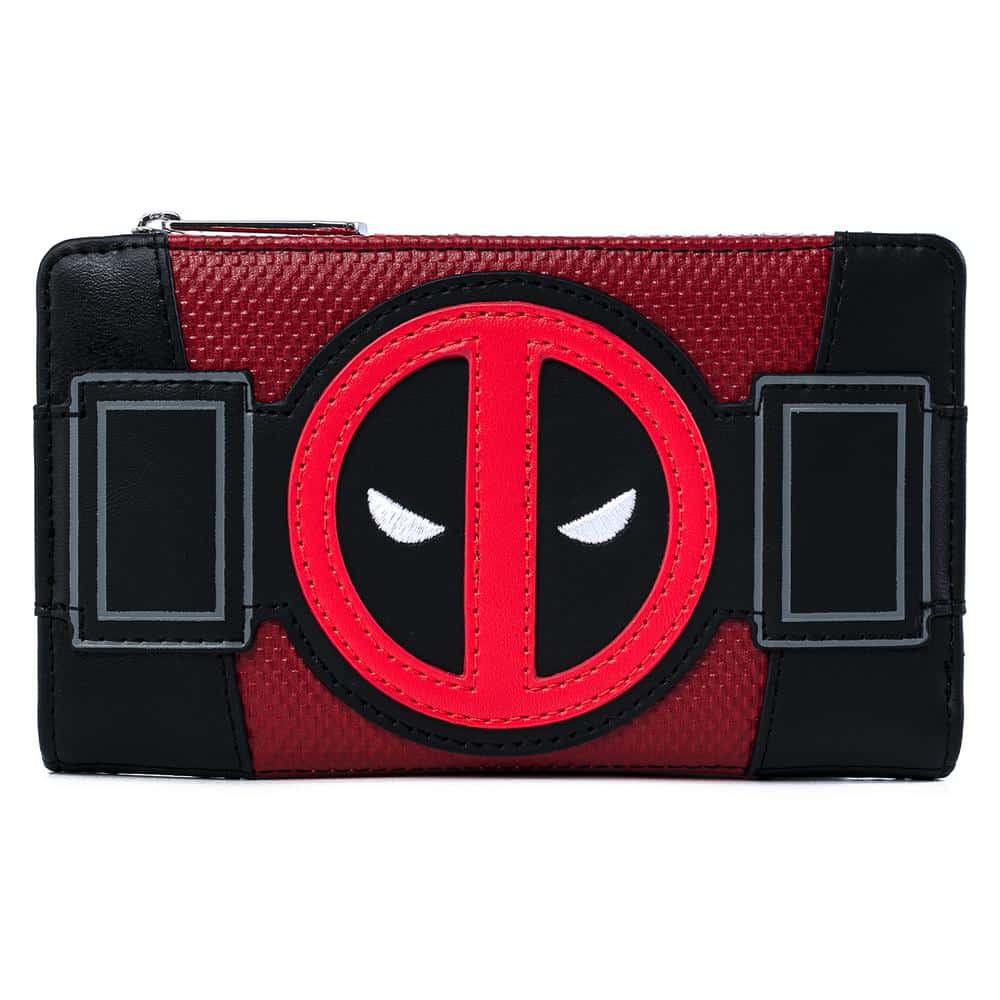 Loungefly Marvel Deadpool Merc With A Mouth Flap Wallet