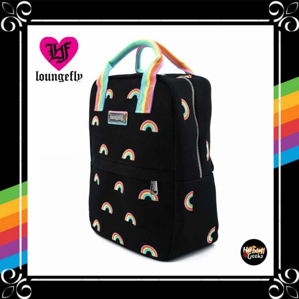 Loungefly Pride Canvas Rainbows Mini-Backpack