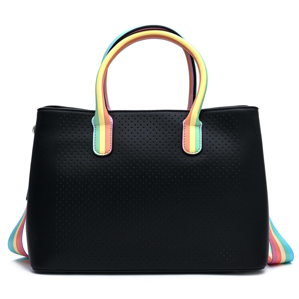 Loungefly Pride Rainbow Pin Trader Crossbody Purse