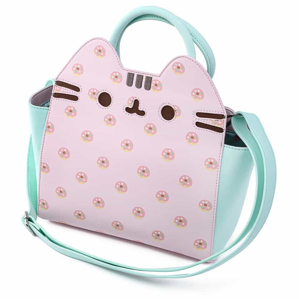 Loungefly Pusheen: Big Kitty Donuts Crossbody Purse by Loungefly