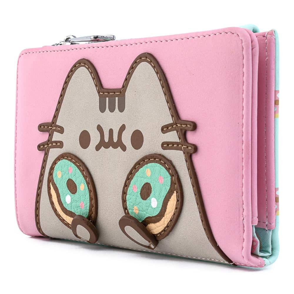Loungefly Pusheen: Double Donuts Flap Wallet by Loungefly