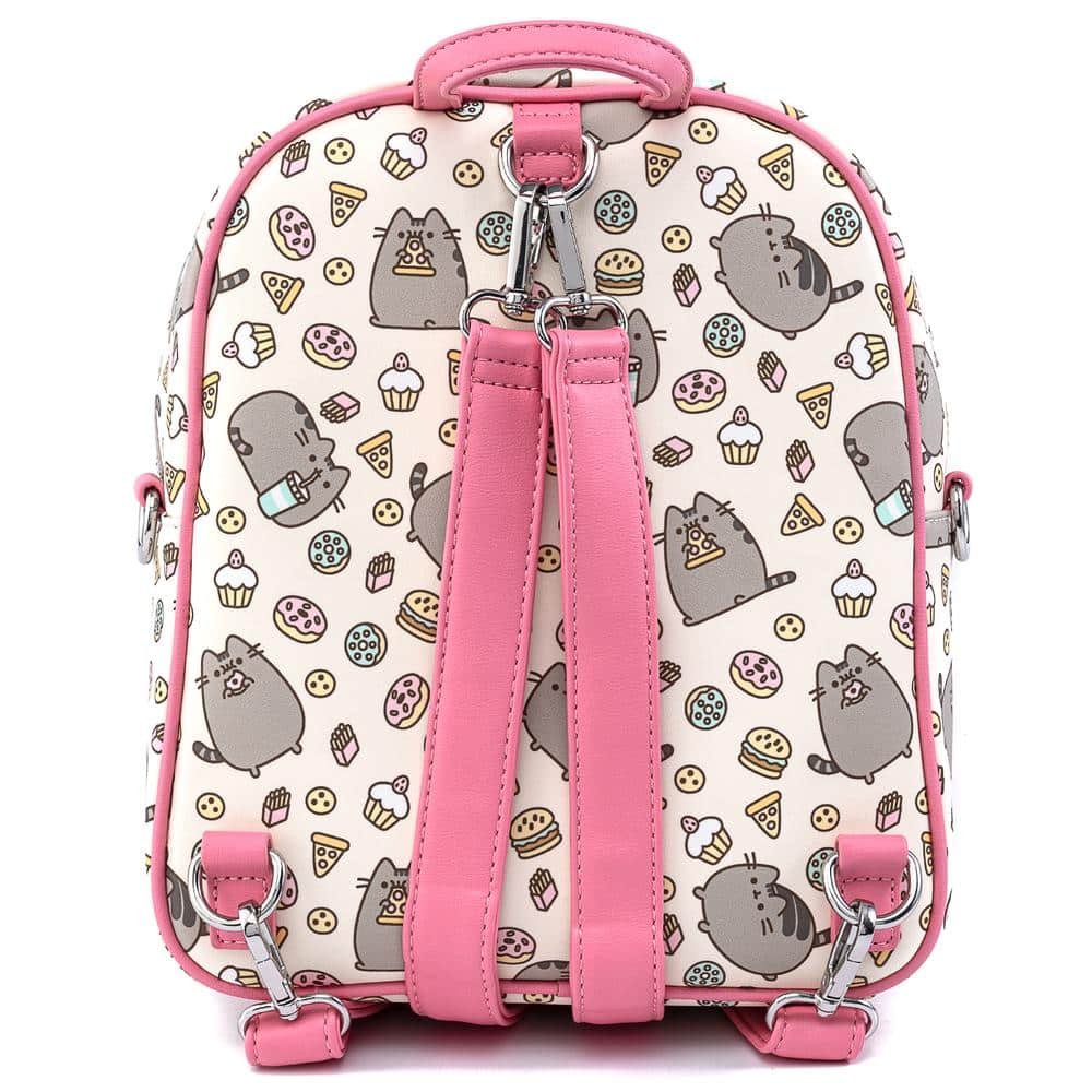 Loungefly Pusheen:  Snackies Convertible Mini-Backpack by Loungefly