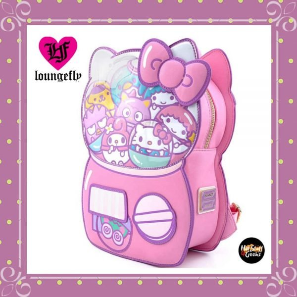 Loungefly Sanrio Hello Kitty Kawaii Machine Figural Backpack