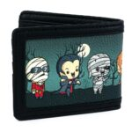 Loungefly Universal Monsters Chibi Characters Bi-fold Wallet