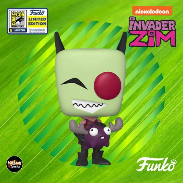 POP Animation: Invader Zim - Zim With Minimoose Funko Pop! Vinyl Figure - SDCC 2020 Exclusive
