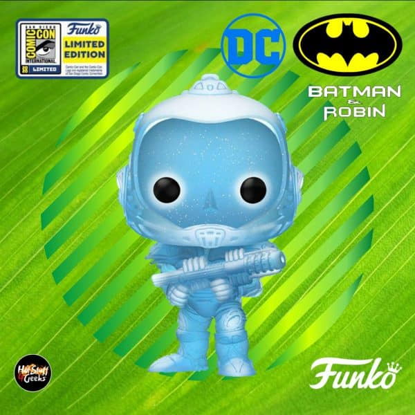 POP Heroes: Batman & Robin- Mr. Freeze (Glitter) Funko Pop! Vinyl Figure - SDCC 2020 Exclusive