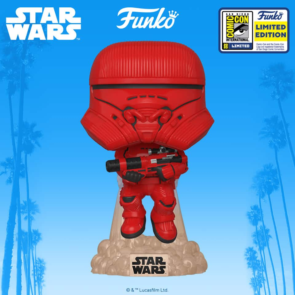 POP Star Wars The Rise of Skywalker - Sith Jet Trooper Funko POP