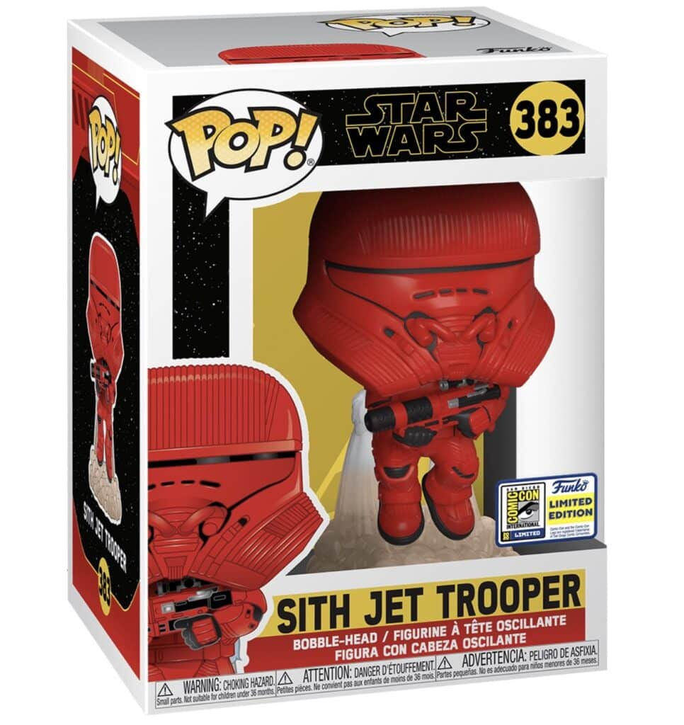 POP Star Wars The Rise of Skywalker - Sith Jet Trooper Funko POP (Box)