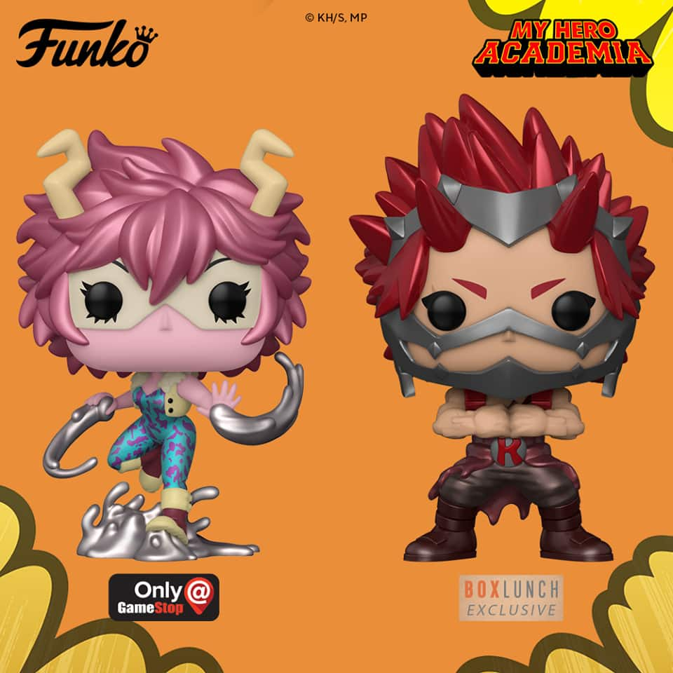 New Funko 2020 Pop Animation My Hero Academia Hot Stuff 4 Geeks