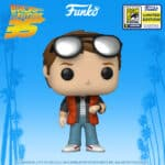 Funko Pop! Back To The Future: Marty Checking Watch Funko Pop! Vinyl Figure - SDCC 2020 and Walmart Shared Exclusive