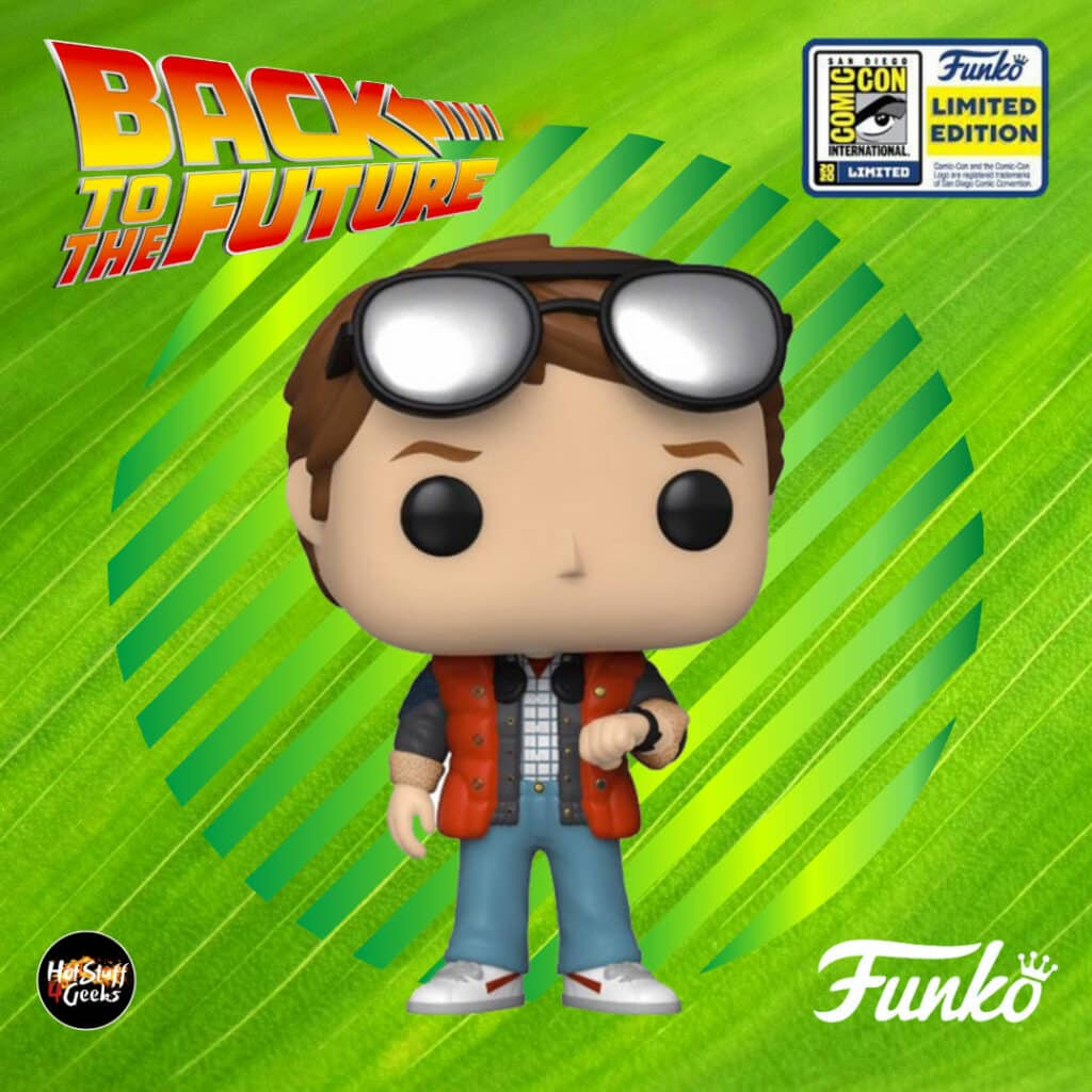 Fuunko Pop! Back To The Future: Marty Checking Watch Funko Pop! Vinyl Figure - SDCC 2020 and Walmart Shared Exclusive