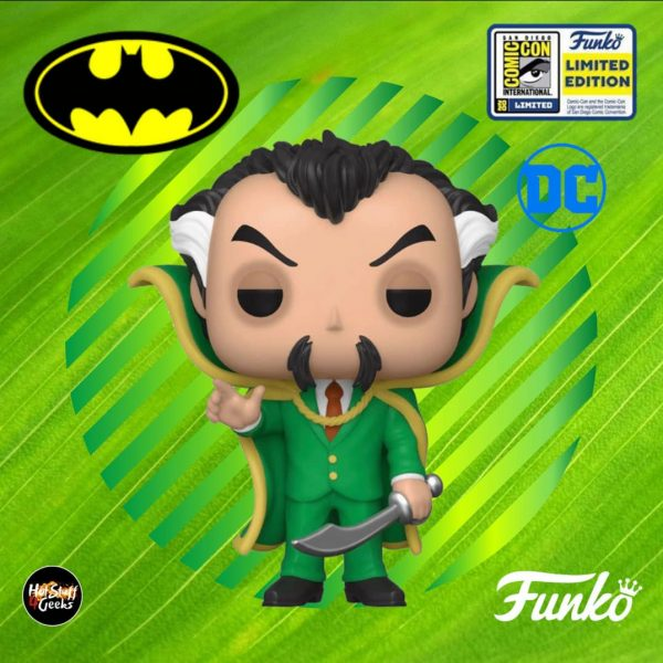 Funko Pop! DC Comics - Batman: Ra's Al Ghul Funko Pop! Vinyl Figure - SDCC 2020 and Entertainment Earth Shared Exclusive
