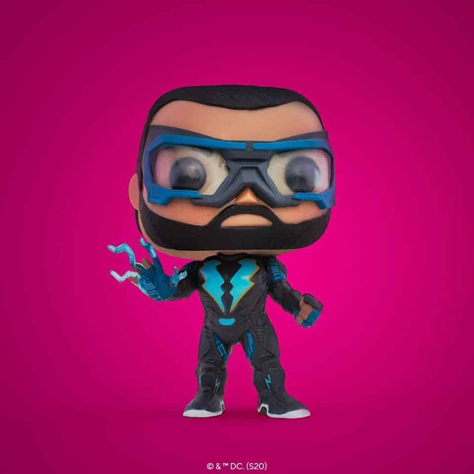 Pop! DC Comics Black Lightning - Black Lightning Funko Pop! Vinyl Figure - SDCC 2020 and Show Only Shared Exclusive