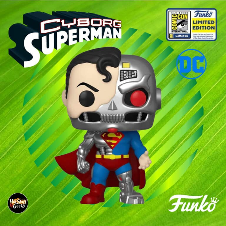 Funko Pop! DC Comics: Cyborg Superman Funko Pop! Vinyl Figure - SDCC 2020 Exclusive