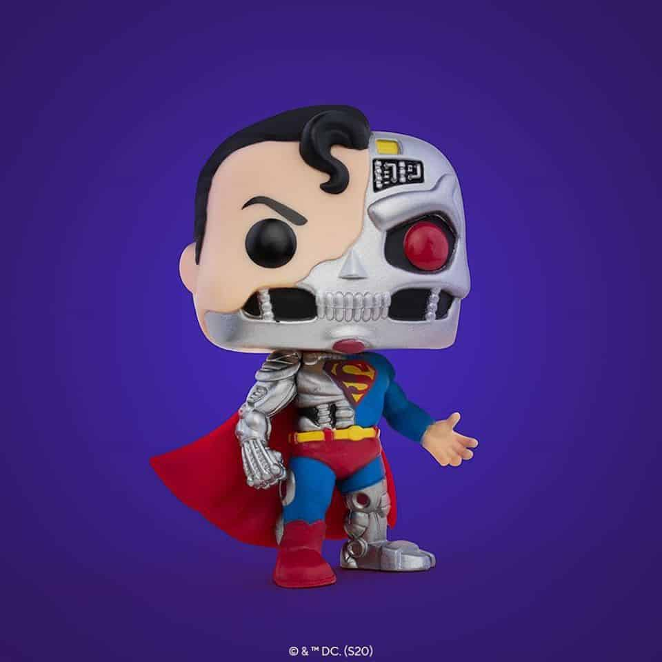 Pop! DC Comics Cyborg Superman Funko Pop! Vinyl Figure - SDCC 2020 and Target Shared Exclusive
