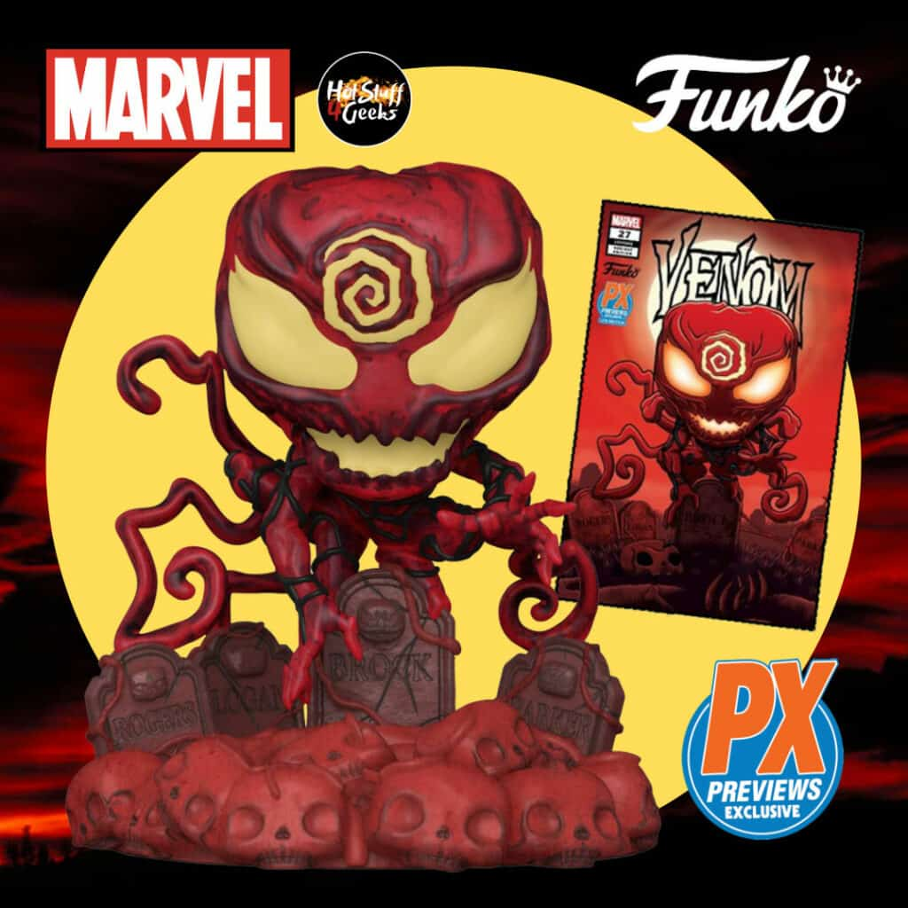 Funko Pop! Deluxe: Marvel Heroes - Absolute Carnage Funko Pop! Vinyl Figure - PX Previews Exclusive