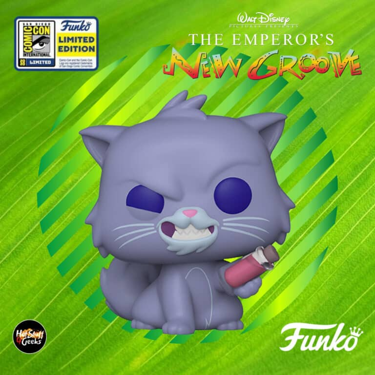 Pop! Disney: Emperor's New Groove - Yzma as Cat Funko Pop! Vinyl Figures - SDCC Exclusive