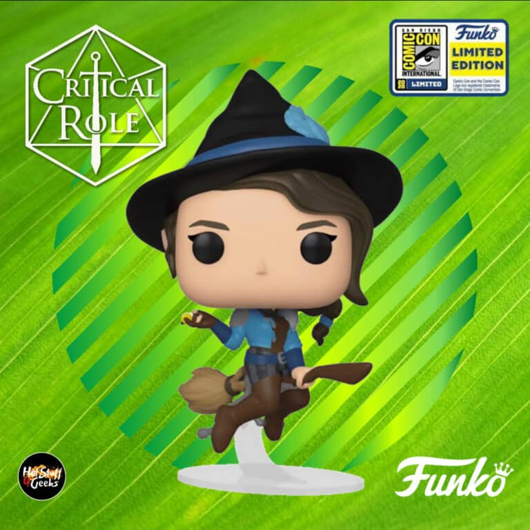 Funko Pop! Games: Critical Role - Vex'Ahlia Funko Pop! Vinyl Figure - SDCC 2020 and Best Buy Shared Exclusive