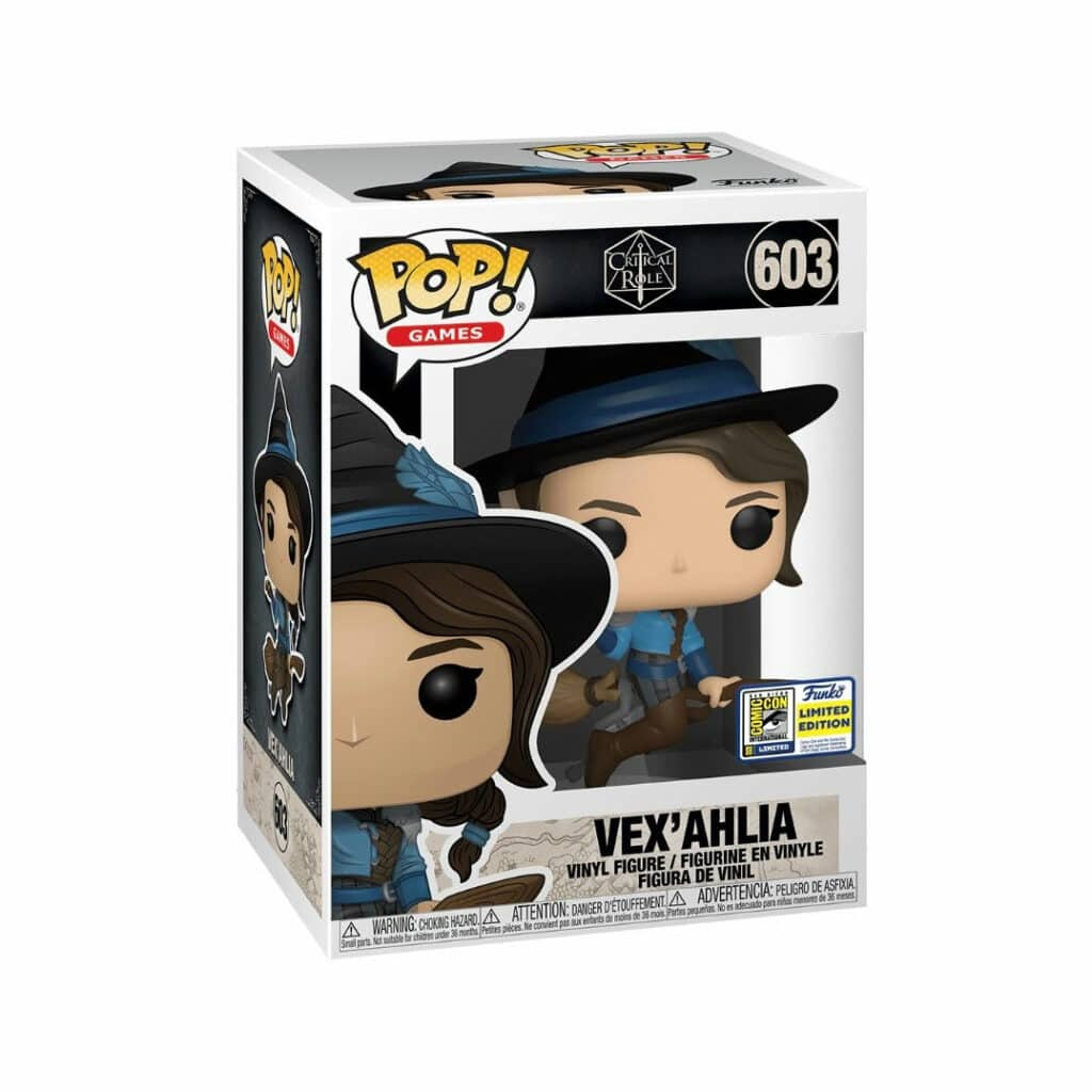 Funko Pop! Games: Critical Role - Vex'Ahlia Funko Pop! Vinyl Figure - SDCC 2020 and Best Buy Shared Exclusive (Box)