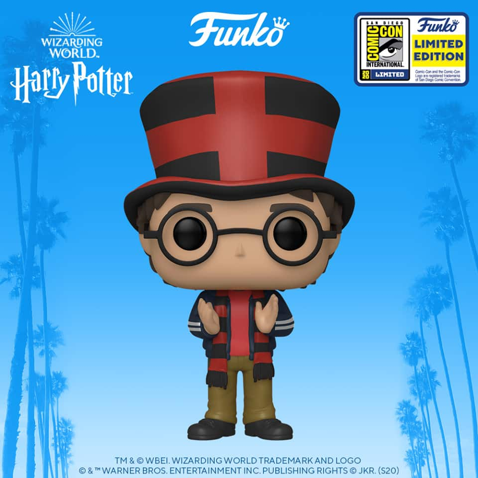 Funko Pop! Harry Potter: Harry Potter at the World Cup Funko Pop! Vinyl Figure - SDCC 2020 and Funko Shop Shared Exclusive
