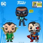 Funko Pop! Heroes DC Comics Super Heroes SDCC 2020 Wave: Black Lightning, Ra's Al Ghul and Cyborg Superman