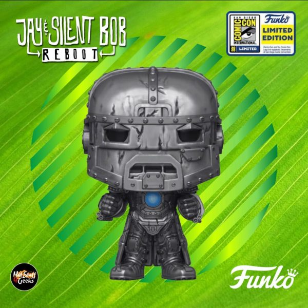 Funko Pop! Movies: Jay And Silent Bob Reboot - Iron Bob Funko Pop! Vinyl Figure - SDCC 2020 and FYE Shared Exclusive