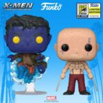 Funko Pop Marvel 20th Anniversary wave SDCC 2020 Exclusives: Wade Wilson (Weapon XI) and Nightcrawler Funko Pop! Vinyl Figures