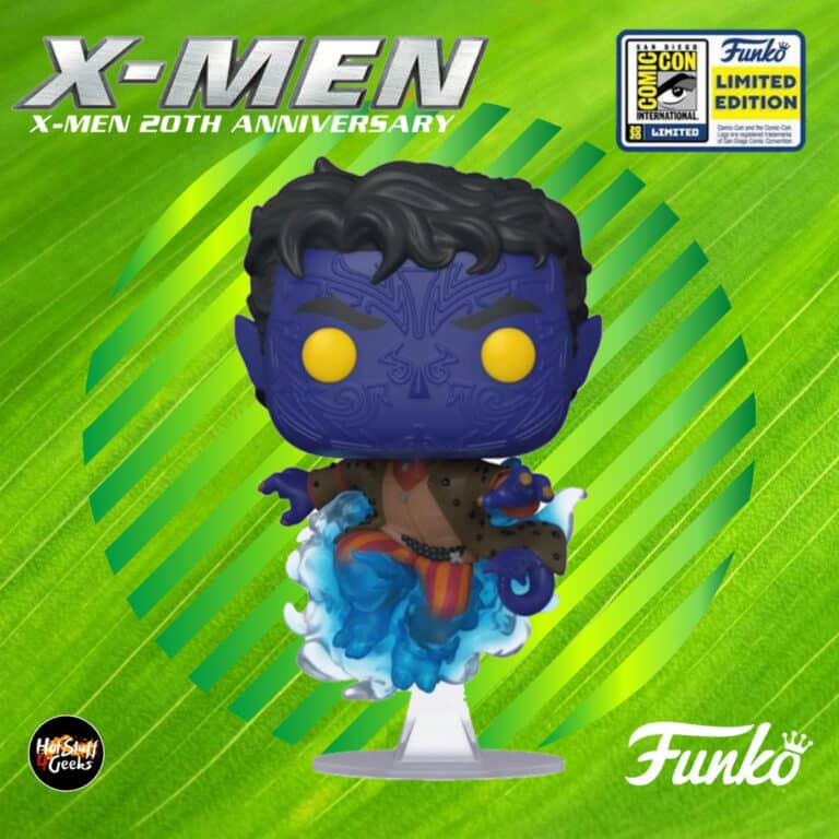 Funko Pop! Marvel 20th Anniversary: Nightcrawler Funko Pop! Vinyl Figure - SDCC 2020 and Hot Topic Shared Exclusive