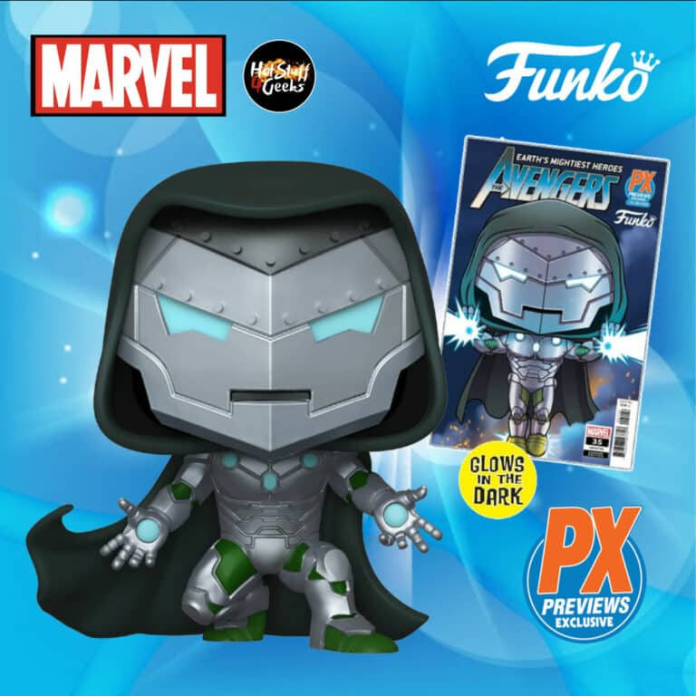 Funko Pop! Marvel: Infamous Iron Man Funko Pop! Vinyl Figure (Glow In The Dark) - PX Previews Exclusive