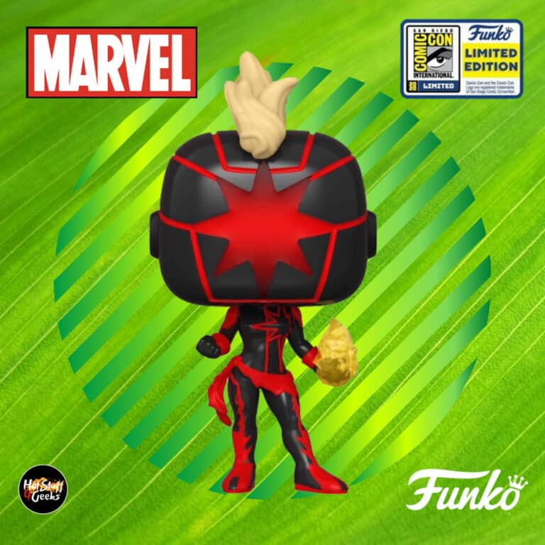 Funko Pop! Marvel: Dark Captain Marvel Funko Pop! Vinyl Figure - SDCC 2020 and Amazon Shared Exclusive