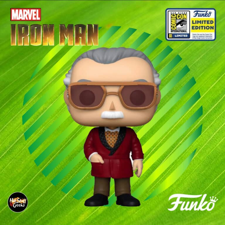 Funko Pop! Marvel Studios: Iron Man - Stan Lee Funko Pop! Vinyl Figure - SDCC 2020 and Target Shared Exclusive
