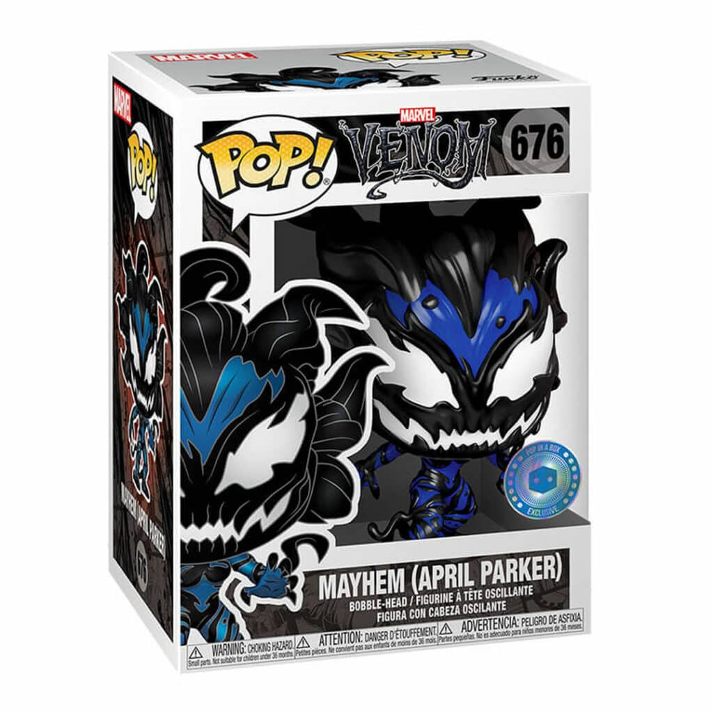 Funko Pop! Marvel Venom: April Parker as Mayhem Funko Pop! Vinyl Figure - Pop In a Box Exclusive (Box)