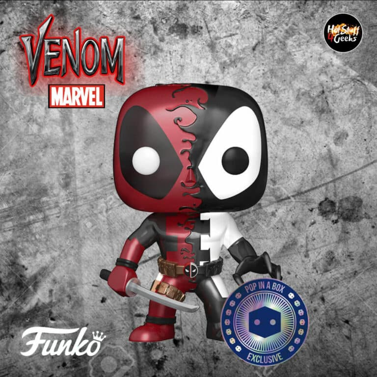 Pop! Marvel Venom: Deadpool (Metallic) Funko Pop! Vinyl Figure - Pop In a Box Exclusive