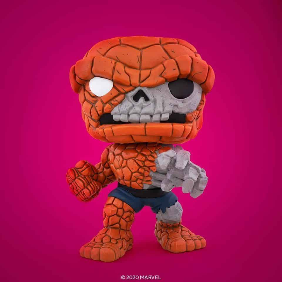 Pop! Marvel Zombies Zombie The Thing (10-inch) Funko Pop! Vinyl Figure – SDCC 2020 and GameStop Shared Exclusive