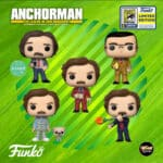 Funko Pop! Movies: Anchorman: The Legend Of Ron Burgandy Funko Pop! Vinyl Figures - SDCC 2020 and Funko Shop Shared Exclusives