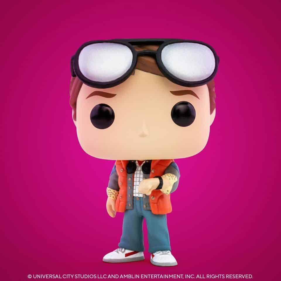 Pop! Movies Back To The Future - Marty Checking Watch Funko Pop! Vinyl Figure - SDCC 2020 and Walmart Shared Exclusive