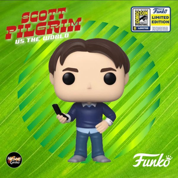 Funko Pop! Movies Scott Pilgrim Vs. The World - Wallace Wells Funko Pop! Vinyl Figure - SDCC 2020 and Funko Shop Shared Exclusive