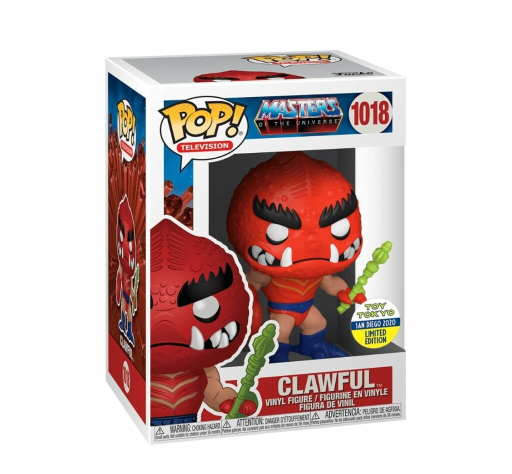 Funko Pop! Television – Masters of the Universe: Clawful Funko Pop! Vinyl Figure - SDCC 2020 and Toy Tokyo Shared Exclusive (Box)