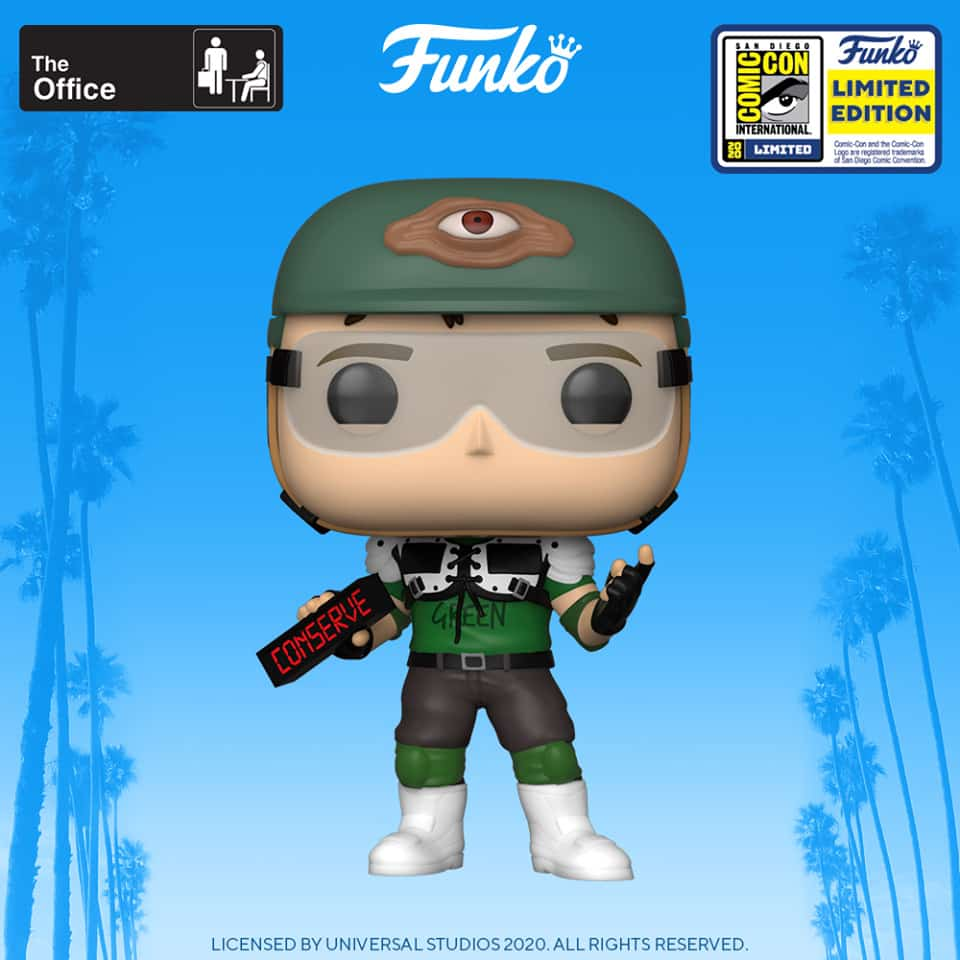 Funko Pop! Television: The Office - Dwight Schrute as Recyclops Funko Pop! Vinyl Figure - SDCC 2020 and Walmart Shared Exclusive