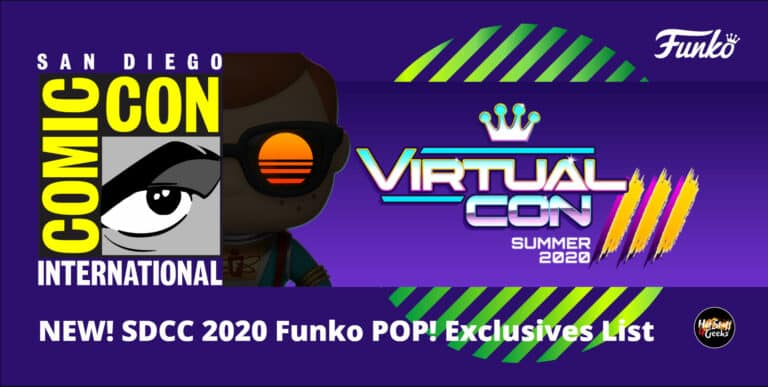 San Diego Comic Con 2020 Funko Virtual Con 3.0 Exclusives List