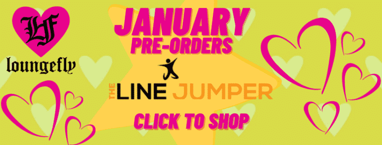 The Line Jumper January Loungefly Pre Orders