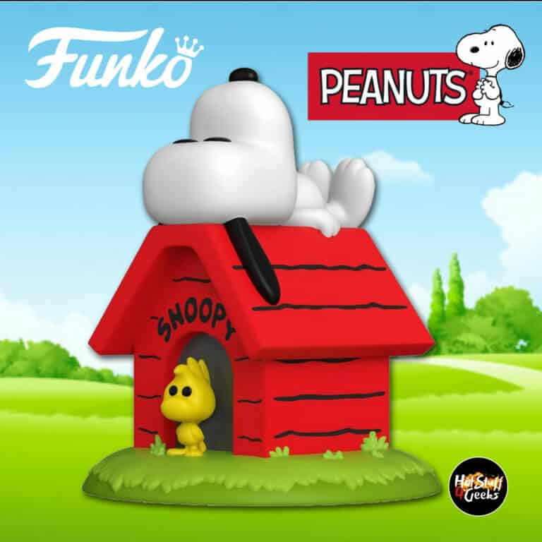 Funko Funko Pop! Deluxe: Peanuts - Snoopy on Doghouse with Woodstock Funko Pop! Vinyl Figure