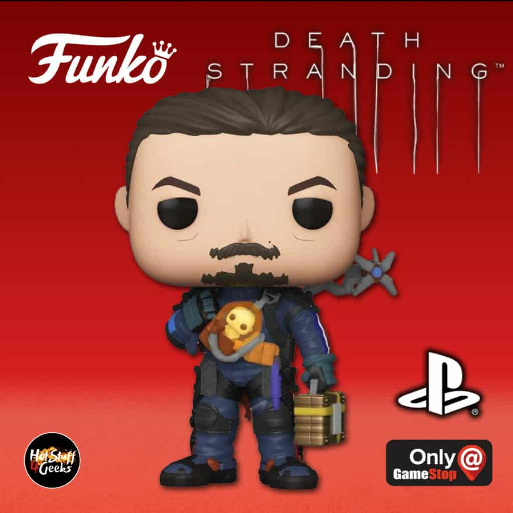 Funko POP! Games: Playstation - Death Stranding: Sam Porter Bridges Funko Pop! Vinyl Figure - GameStop Exclusive