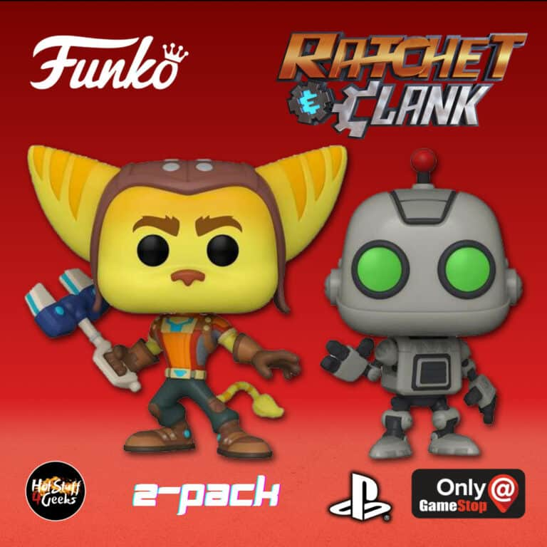 Funko POP! Games: Playstation - Ratchet and Clank 2 Pack Funko Pop! Vinyl Figures - GameStop Exclusive